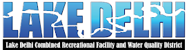 Lake Delhi Recreational Facility and Water Quality District Logo